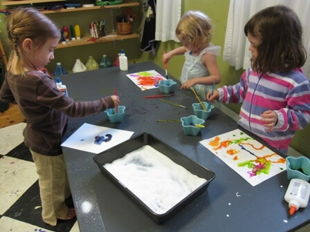 Salty Watercolors Art Activity