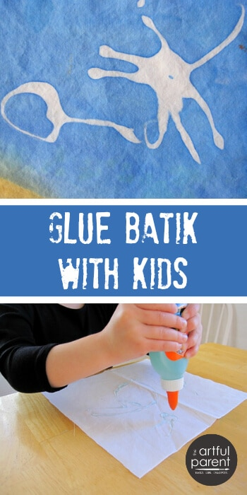 Glue Batik Art for Kids