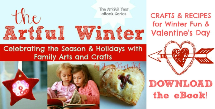 The Artful Winter Ad 690 Valentines