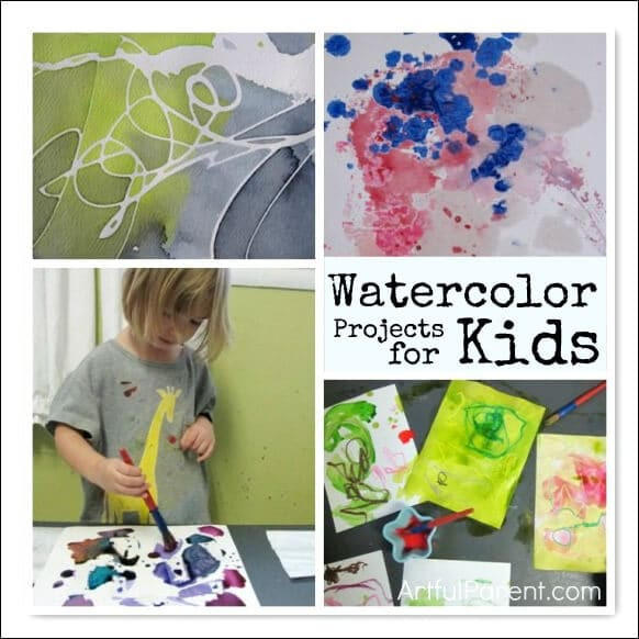 Fun Watercolor Projects for Kids