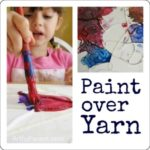 Paint Over Yarn :: Another Fun Yarn Project