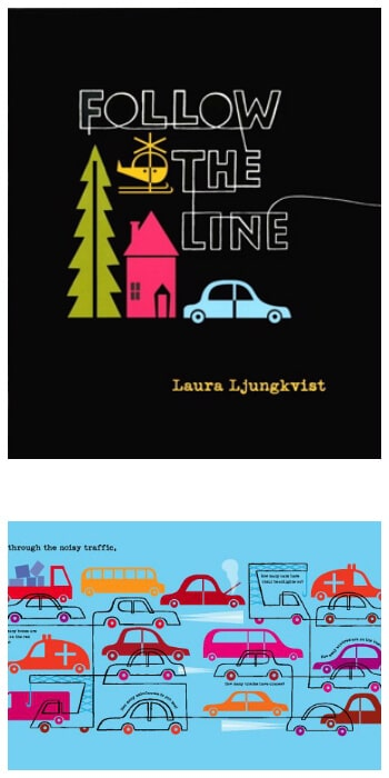 Follow the Line Book by Laura Ljungkvist