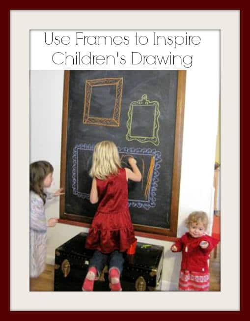 Use Frames to Inspire Children's Drawing