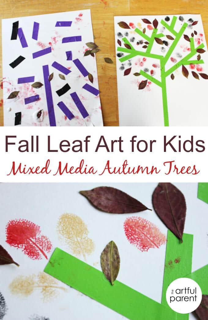 Hello Autumn Drawing Mixed Media Autumn Trees