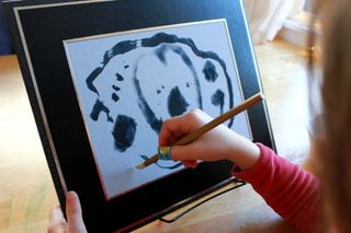 Japanese Brush Painting for Children