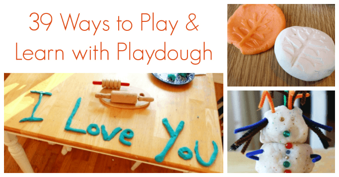 39 Ways to Play and Learn with Playdough