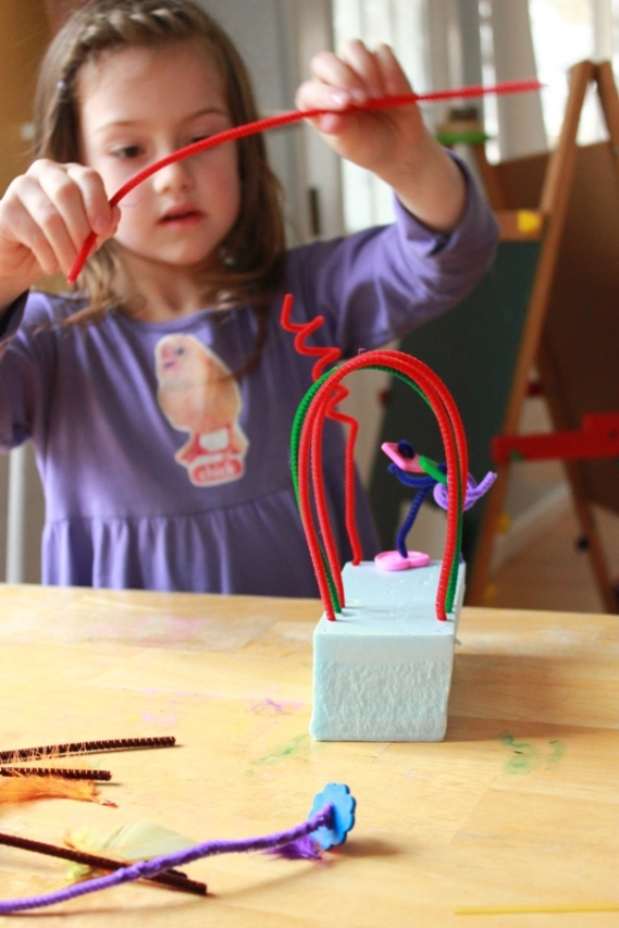 Wire Sculptures for Kids