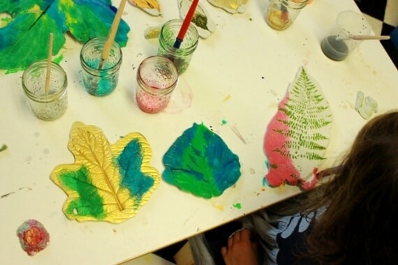 Leaf Casting with Plaster of Paris 40