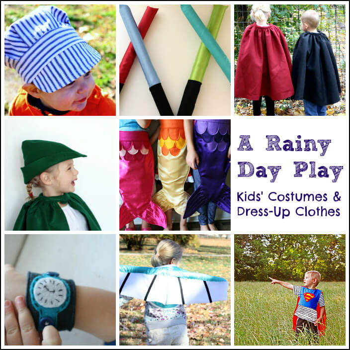 A Rainy Day Play Kids Costumes and Dress Up Clothes