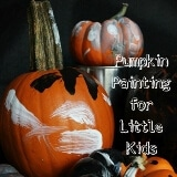 Pumpkin Painting for Little Kids