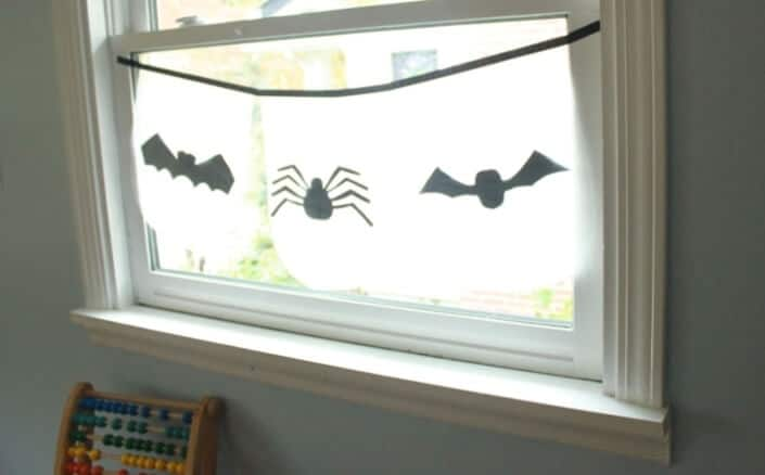 How to Make a Halloween Bunting