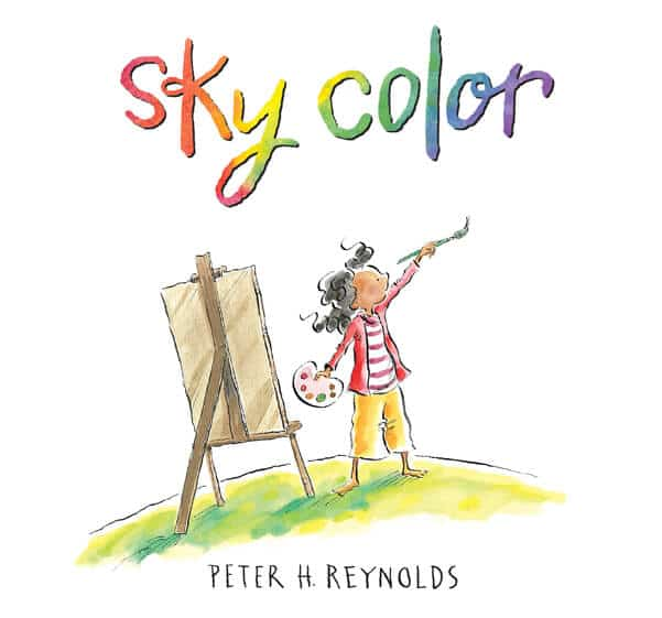 Sky Color :: A Childrens picture book about creativity