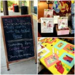 My First Bookstore Event :: A Hands-On Family Art Activity