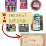 Win a Box of Arts and Crafts Supplies from Craft Project Ideas