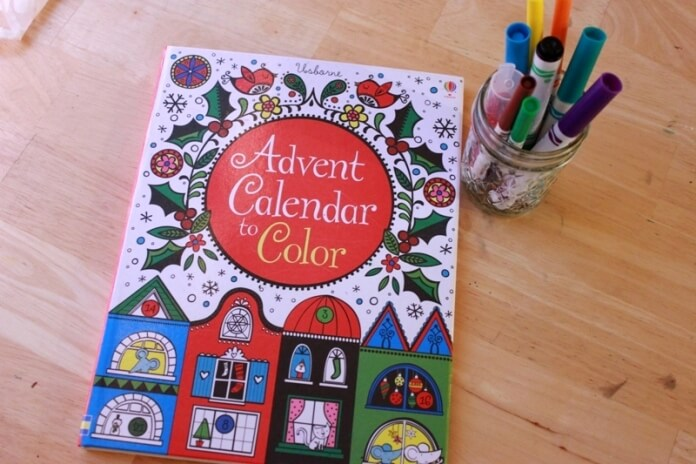 Advent Calendar to Color 4
