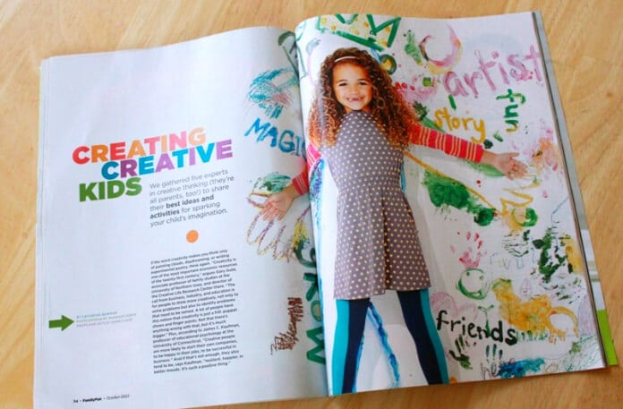 Creating Creative Kids Article