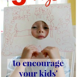 5 Ways to Encourage Your Kids Creativity Right Now