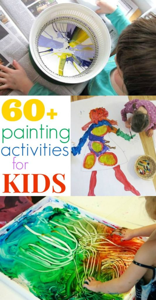 painting activities for kids 60 ideas the artful parent