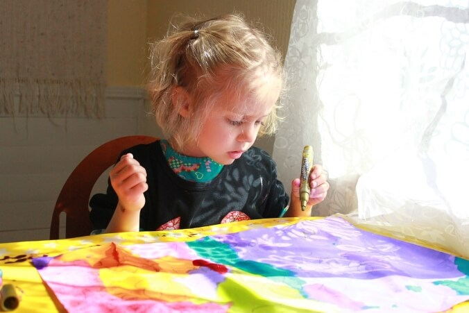 Kids Shadow Art - Tracing and Painting the Light