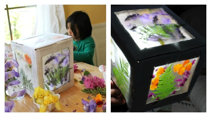 Spring Crafts Kids Love - A Flower Box
