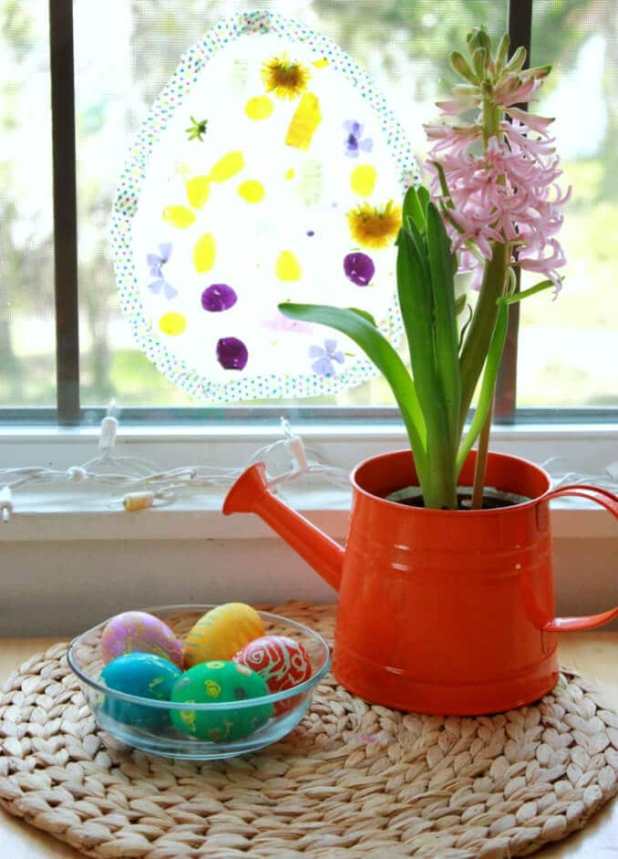 Easter Egg Suncatcher Craft