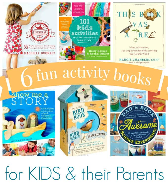 6 Fun Activity Books for Kids and their Parents