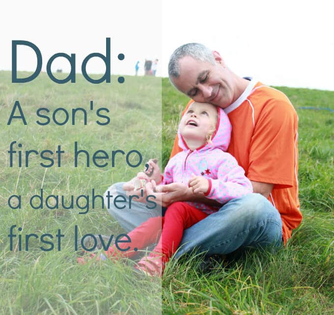 Quotes About The Love Of A Father: Dad Loves Son Quotes. QuotesGram