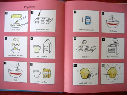 Kids Cookbook - Pretend Soup Interior Spread