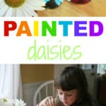 Painted Daisies :: Simple Science Experiments for Kids