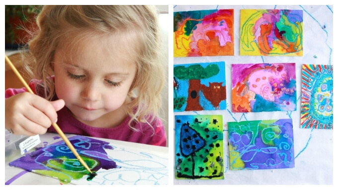 Painting activities for preschoolers 11 favorites Fun painting ideas for toddlers