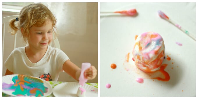 Puffy Paint and Marshmallows