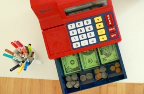 Toy Cash Register