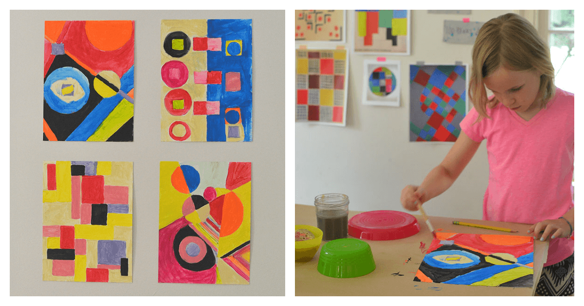 Artist Study With Kids Sonia Delaunay