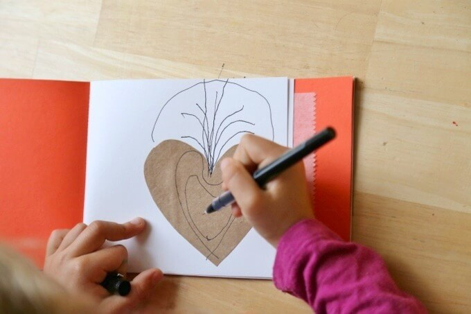 DIY Art Journals for Kids with Drawing Prompts