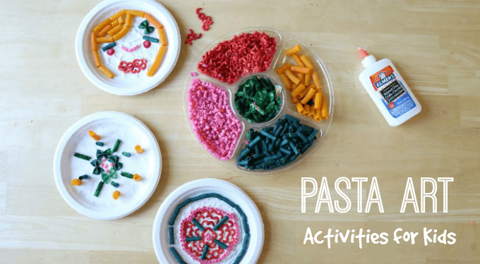 Pasta Art Activities for Kids