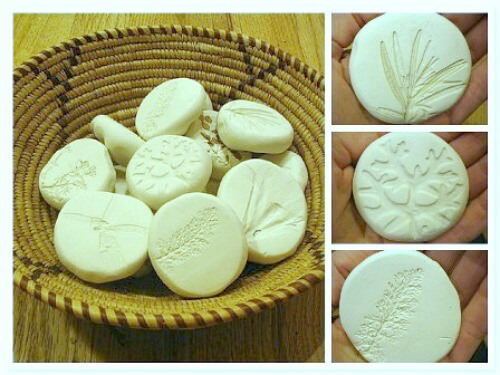 Sculpey Nature Prints
