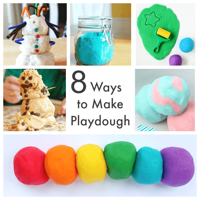 Homemade Playdough Recipes for Kids