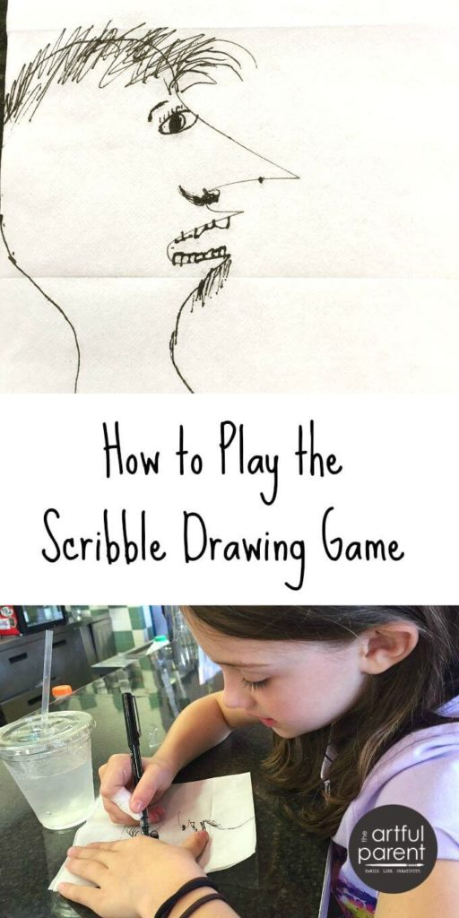 Scribble Drawing Game : The scribble drawing game