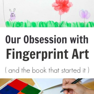 Our Obsession with Fingerprint Art and the book that started it all