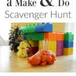 A Make and Do Scavenger Hunt for Kids