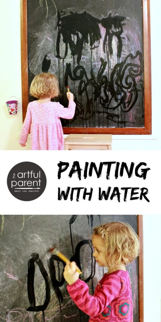 Paint with Water Art