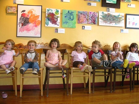 An Art Show Reception for the Childrens Art Group