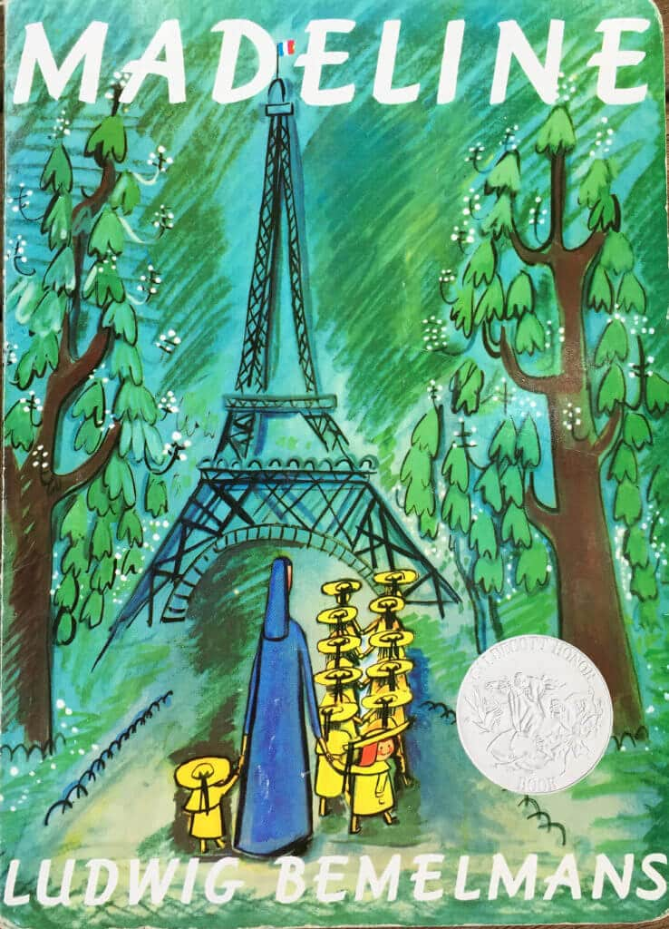 Fine Art for Kids Rooms? Try Our 5 Ideas for Decorating Your Kids Space - picture book Madeline