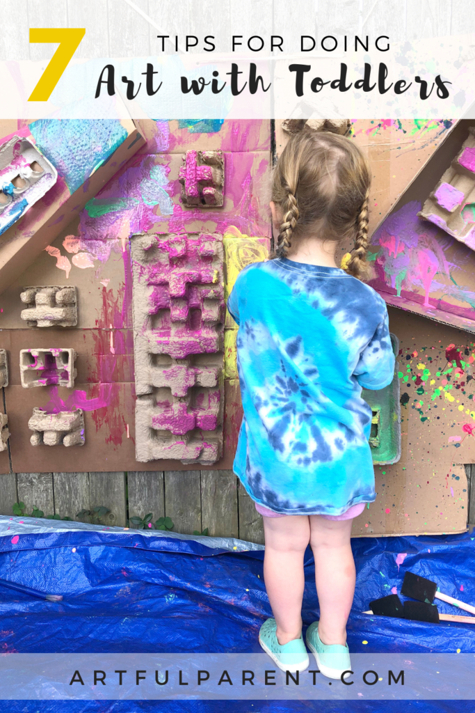 7 Tips for Doing Art with Toddlers_Pin