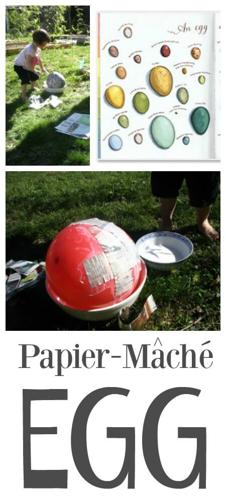 How to Make a Giant Papier Mache Easter Egg