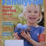 The Toddler Art Group in FamilyFun Magazine