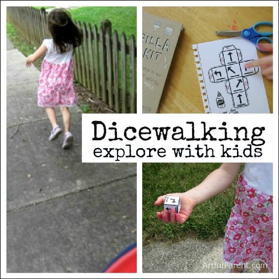 Dicewalking Explore with Kids