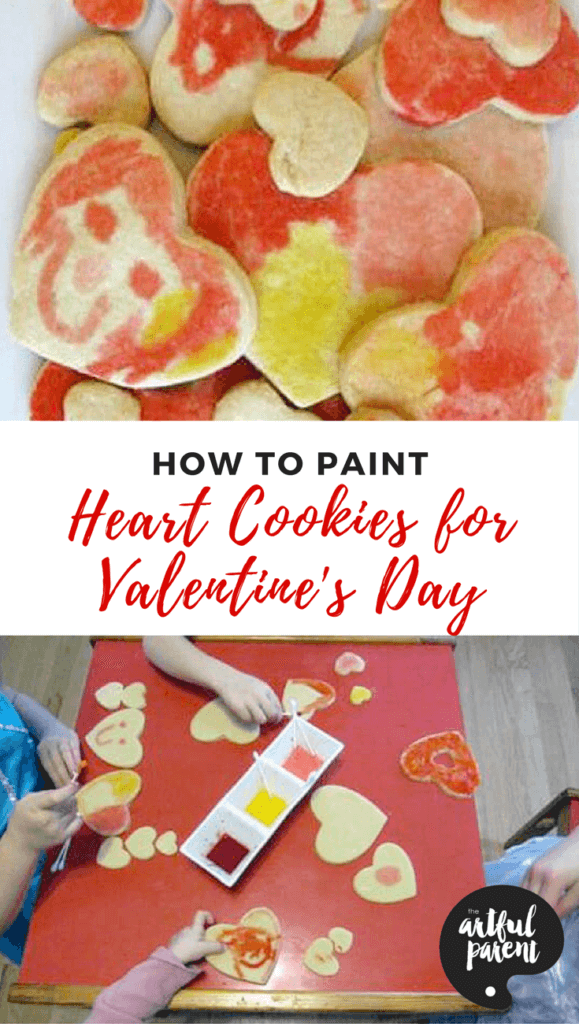How To Paint Heart Cookies for Valentine's Day
