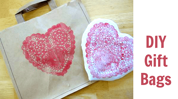 DIY Gift Bags and Heart Pillow