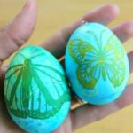 Collage Easter Eggs with Paper Napkins